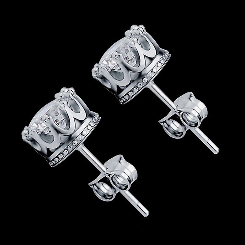 2017 New Style Fashion Jewelry Gold Silver Plated Earrings Stud