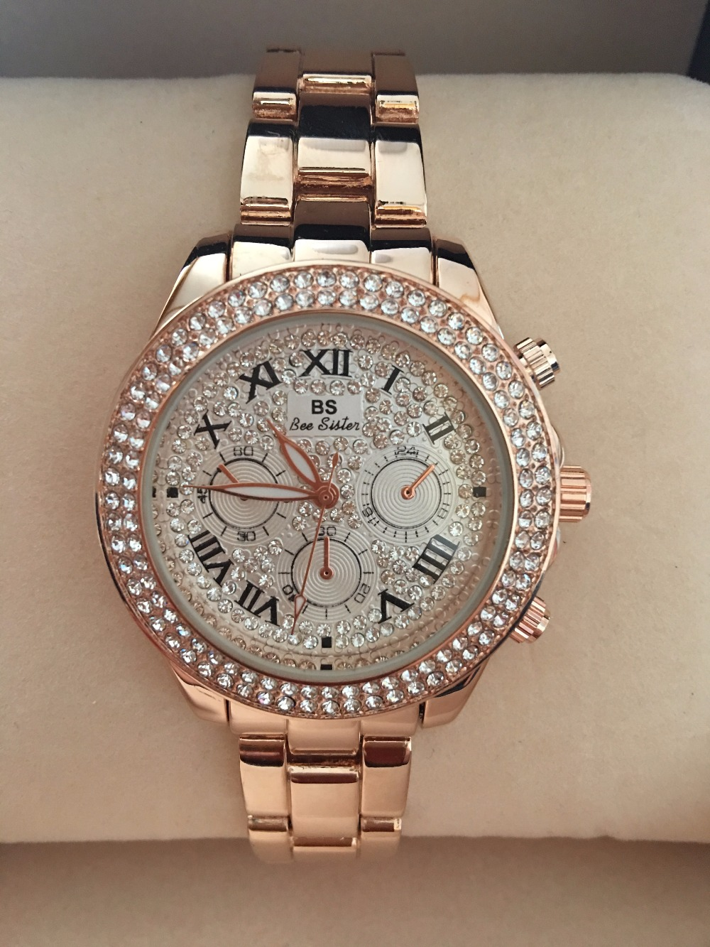 2017 New High Quality Luxury Crystal Diamond Watches Women ...