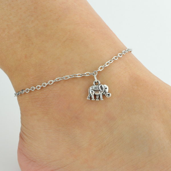 anklets hot multilayered anklet rosegal ankle com rhinestone charm silver