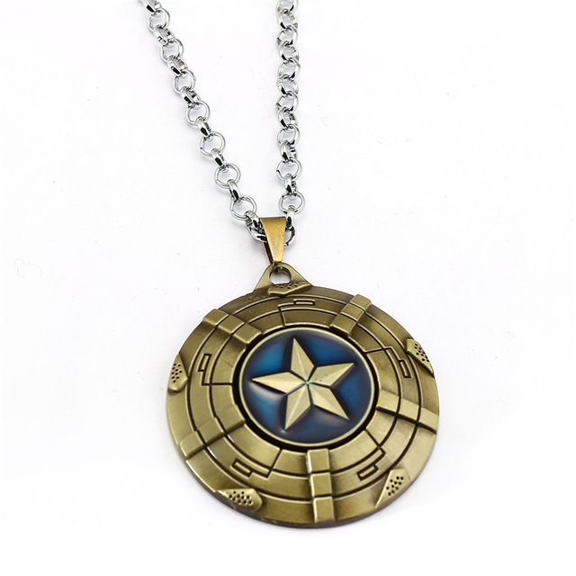 Civil war superhero pendant necklace panther necklaces aloadofball Image collections
